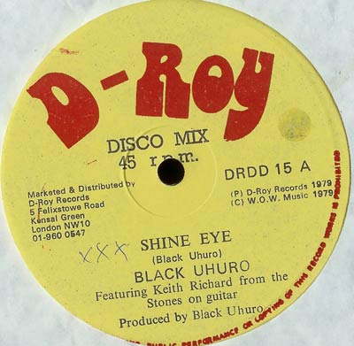 black uhuru dvd cover